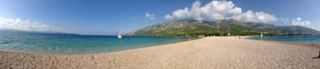 Zlatni Rat Beach from the Point