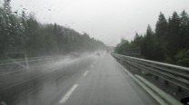 Driving through Slovenia