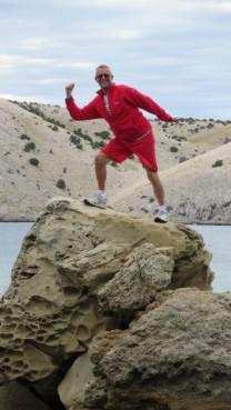 Tony Rock Climbing