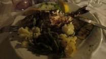 Fish dinner!