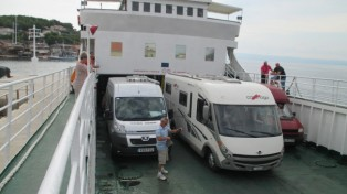 Ferry from Brac Island