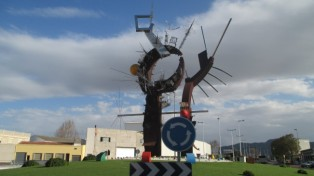 Roundabout Statue in Murcia