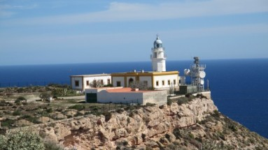 Lighthouse at La Mesa Roldan