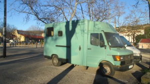 Not so modern campervan