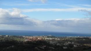 Looking towards Marbella