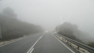 100 yds visibility in the Sierra Bermeja