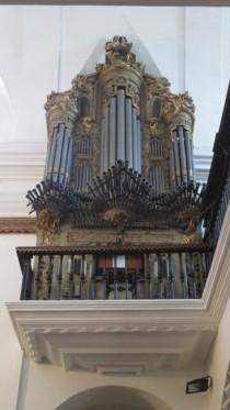 The Organ in Iglesias de San Antonio