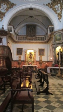 Inside the Chapel of the Hospital de Mujeres
