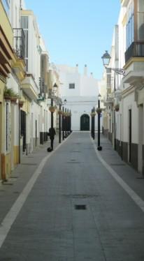 Rota's narrow streets