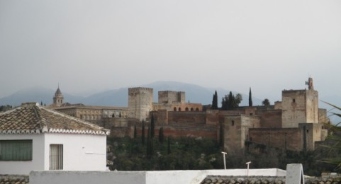 View of alhambra from the Albaicin