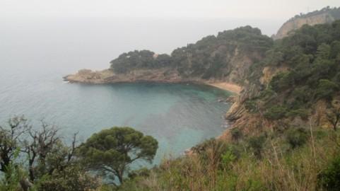 Coast Road from Lloret de Mar to St Feliu de Guixols