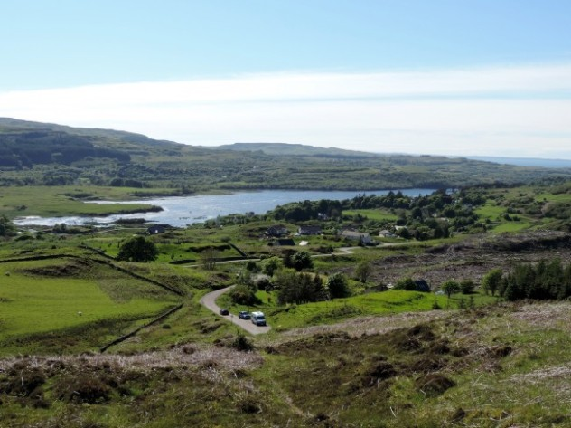 View of Poll Athoch and Dervaig