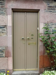 Luss Cottage Front Door