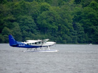Sea Plane on Loch Lomond