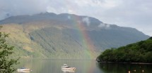 Rainbow on Loch Lomond
