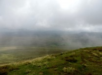 View from the top of Whernside