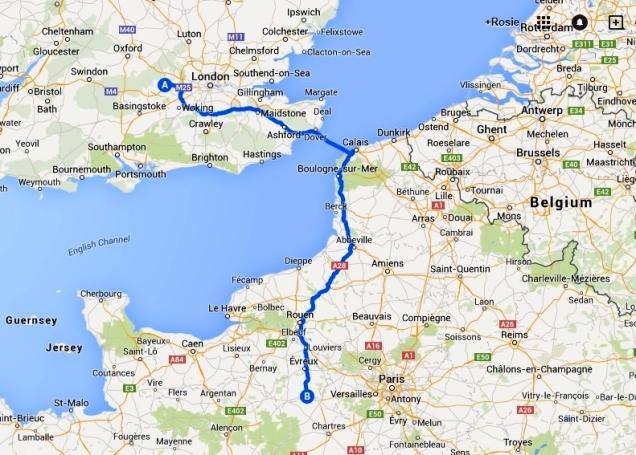 Maidenhead to Nonancourt 3