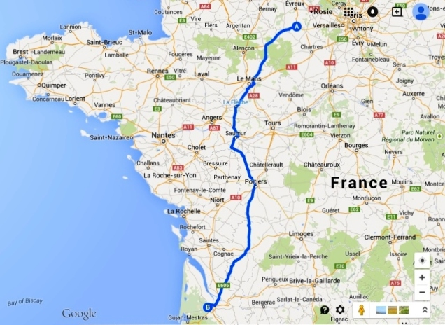 Nonancourt to Bordeaux 2
