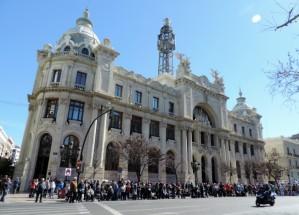 Carreo, Plaza del Ayuntamiento, Valencia