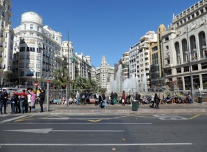 Plaza del Ayuntamiento, Valencia