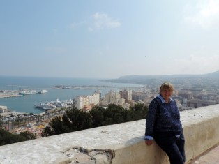 Overlooking Denia Port from the Castle