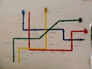 Wall Art or a tube map?