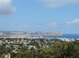 View of Xabia from Cap de Nau peninsula
