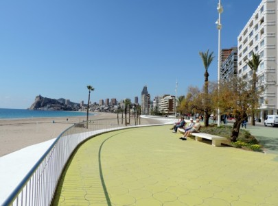 Promenade on Poniente Beach