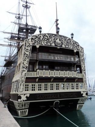 Galleon at the Marina, Alicante