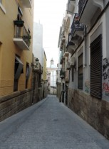 The Old Town, Alicante, Spain