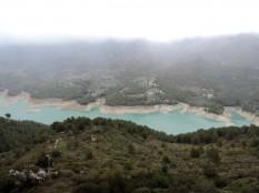 Reservoir below