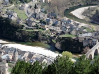 The view from above -Sainte Enimie, Gorges du Tarn, France