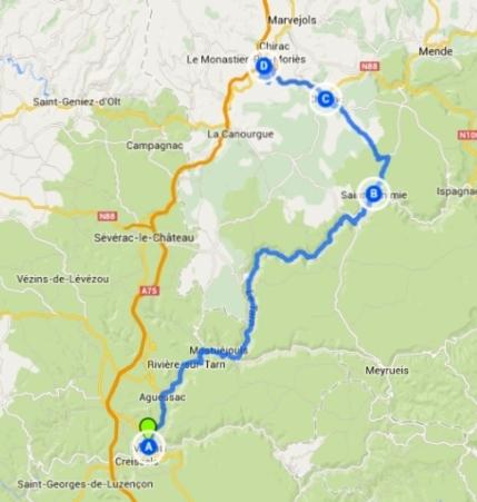 Detour Route