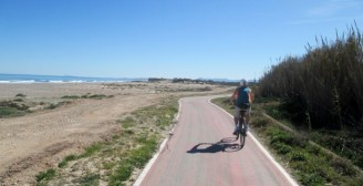 Cycle Path to Parque Natural de la Albufera