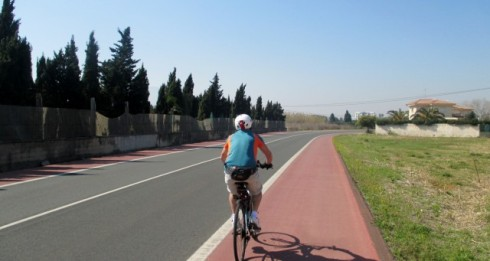 Cycling to Denia from Rio Mar