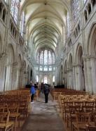 Inside Saint Pierre Church, Chartres