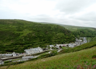 Boscastle from Above