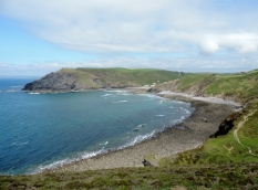 Crackington Haven in sight