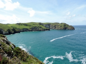 Coastal Path from Campsite at Trethevy