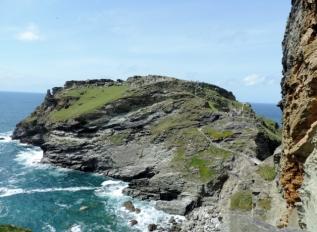 Tintagel Castle Ruins