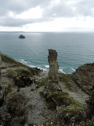 Coastal Path from Tintagel to Trebarwith Strand