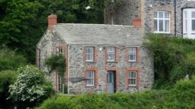 Doc Martin's House, Port Isaac, Cornwal