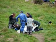 Injured Lady