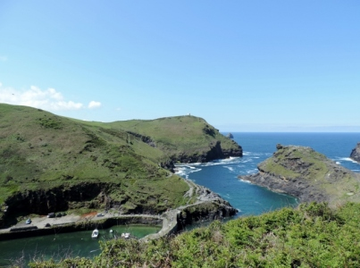 Leaving Boscastle