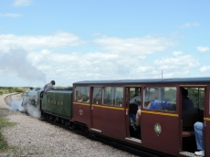 The Romney, Hythe, & Dymchurch Railway Train