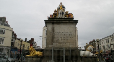 Monument in Weymouth