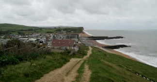 Heading into West Bay from the Campsite