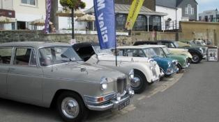 Riley Classic Car Display