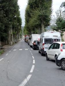 Traffic Jam through Lodeve
