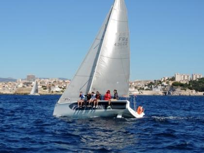 Sailing into Marseille